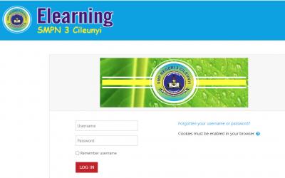 Website Pembelajaran SMPN 3 Cileunyi