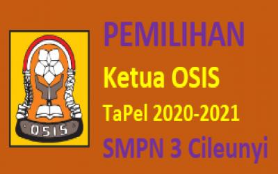 Rencana Dan Tata Cara Pemilihan Ketua OSIS SMPN 3 Cileunyi by E-Voting